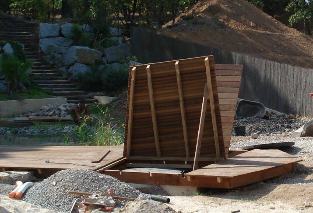 Une belle terrasse en bois ipe qui poss de plusieurs fonctions for Belle terrasse en bois
