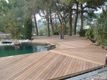 Construction terrasse bois (Mougins 06)
