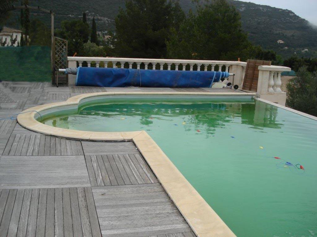 Piscine traditionnelle transform e en piscine naturelle for Transformation piscine